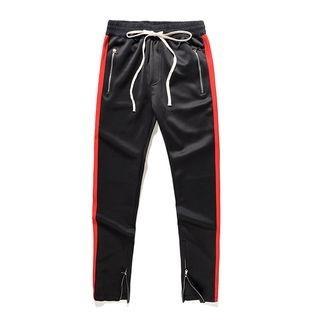 Contrast Trim Sweatpants 1064523958