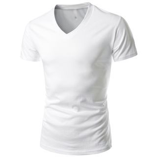 Short-Sleeve V-Neck T-Shirt 1050789777