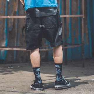 Image of Bag-Back Military Shorts