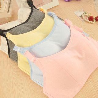 Set: Plain Bra Top + Panties 1054810208
