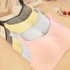 Set: Plain Bra Top + Panties 1596