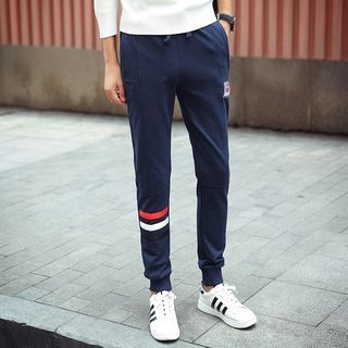 Contrast Trim Sweatpants 1054949521