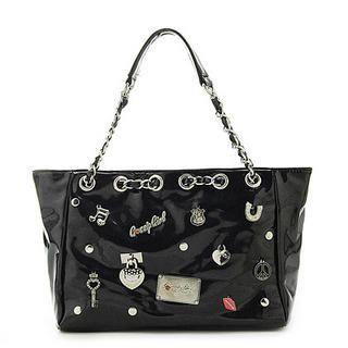 Buy Gossip Girl Gossip Girl Shoulder Bag Black – One Size 1022944957