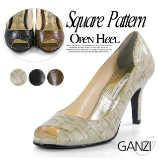 Buy ganzi Peep Toe Pumps 1022450998