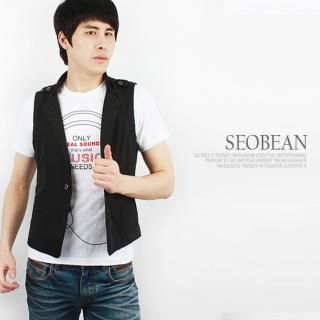 Buy SEOBEAN Single-Button Vest 1022400059