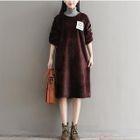 Turtleneck Midi Pullover Dress 1596