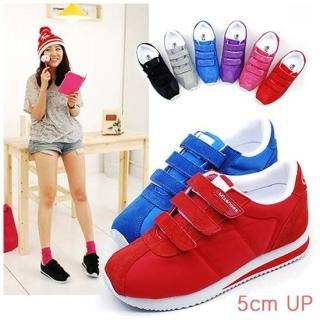 Buy Miz shoes Velcro Platform Sneakers 1022391385
