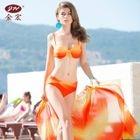 Set: Printed Bikini + Cover 1596