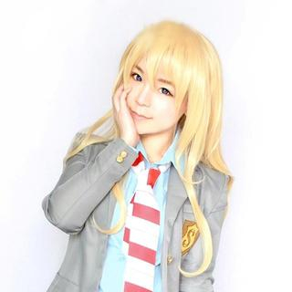 Cosplay Wig - Your Lie in April Miyazono Kaori 1041167159