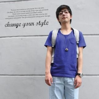 Picture of Groove9 Pocket T-Shirt 1023036704 (Groove9, Mens Tees, South Korea)