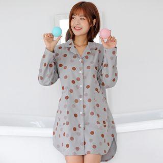 Image of Dotted Pajama Dress