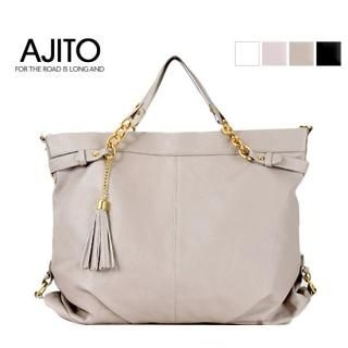 Picture of AJITO Faux-Leather Satchel 1022539287 (AJITO, Satchels, Korea Bags, Womens Bags, Womens Satchels)
