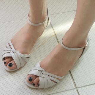 Buy Dorothy Pink Ankle Strap Sandals 1023004959