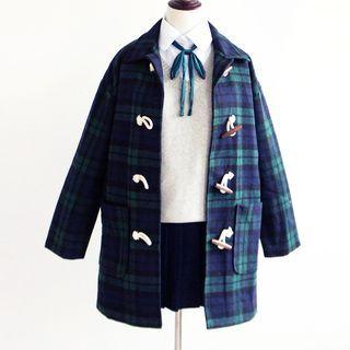 plaid-toggle-coat