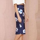 Floral Pencil Skirt 1596