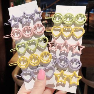 Image of Star / Heart / Smiley Hair Clip