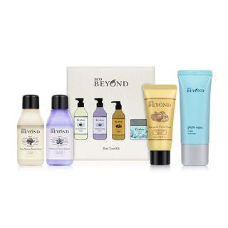 BEYOND - Best Tour Kit: Deep Moisture Shower Cream 60ml + Professional Defense Shampoo 60ml + Phytoganic Facial Foam (Tube) 30ml + Phyto Aqua Cream (Tube) 20ml 4pcs 1062396986