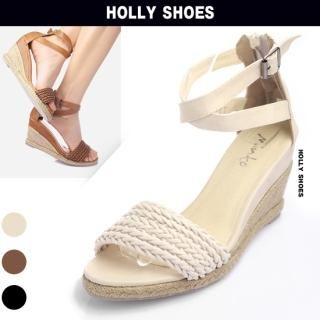 Picture of Holly Shoes Ankle-Strap Espadrille Wedges 1022528207 (Other Shoes, Holly Shoes Shoes, Korea Shoes, Womens Shoes, Other Womens Shoes)