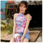 Set: Print Takini Top + Swim Shorts 1596