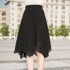 Asymmetric Midi Skirt 1596
