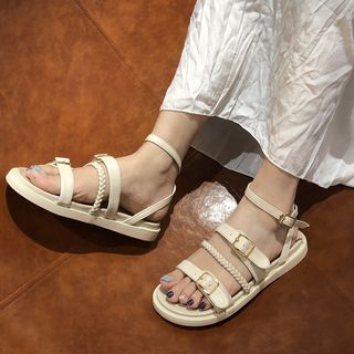 Image of Ankle Strap Roman Sandals