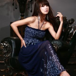 Buy Nabi Halter Print Maxi Dress 1022875033