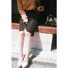 Polka-Dot Pencil Skirt 1596