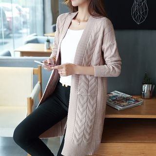 Ribbed Long Cardigan 1062165133