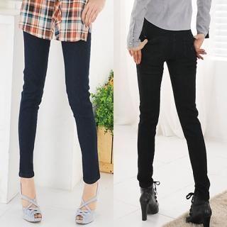 Buy Miss Hong Elasticized Waist Skinny Jeans 1022185062