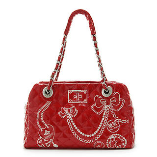 Picture of Vemo Quilted Handbag Red - One Size 1022778587 (Vemo, Handbags, Taiwan Bags, Womens Bags, Womens Handbags)