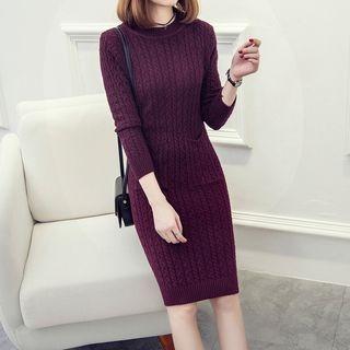Ribbed Knit Dress 1054272916