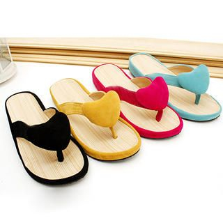 Buy KAWO Heart Thong Sandals 1022875513