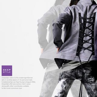 Picture of deepstyle Lace-Up Back Jacket 1022500435 (deepstyle, Mens Jackets, Korea)