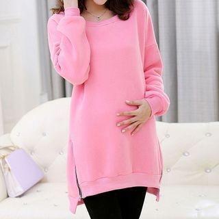 Maternity Zip Side Sweatshirt 1053923060