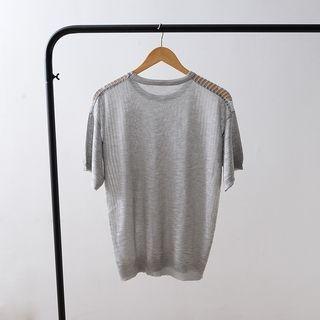 Short-Sleeve Ribbed T-Shirt 1057823249