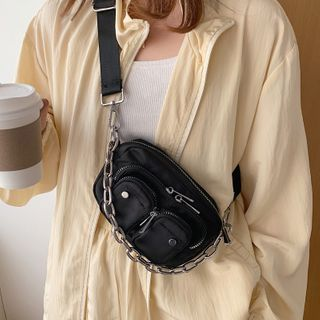 Image of Chain Strap Lightweight Crossbody Bag