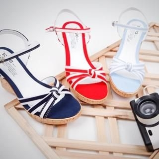 Buy NamuDDalgi Ankle Strap Platform Sandals 1023012868