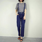 Frayed Hem Jumper Jeans от YesStyle.com INT