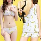 Set: Print Bikini + Cover-up 1596