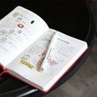 Plain Medium Notebook 1596