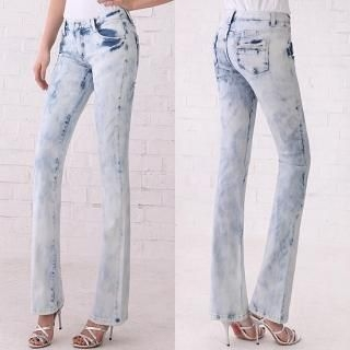 Picture of Blue Is Boot-cut Jeans 1022424761 (Womens Boot-Cut Pants, Blue Is Pants, South Korea Pants)