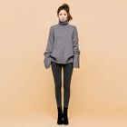 Turtle-Neck Long-Sleeve Sweater 1596