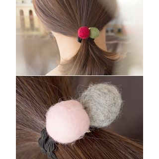 Pompom Elastic Hair Tie 1055218490