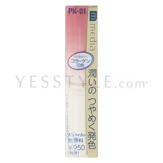 Media Shiny Essence Lip (PK-01) 2.5g