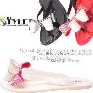 Buy Woorisin Ribbon Front Flip-flops 1022957779