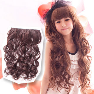 Hair Extension - Long & Wavy 1023958044