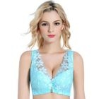 Lace Panel Push-Up Bra 1596