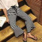 Striped Wide-Leg Pants 1596