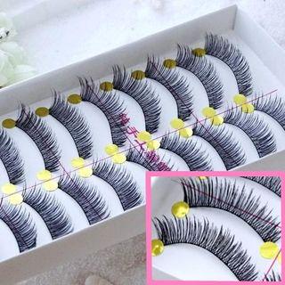 Image of 10 Pairs Set: False Eyelashes