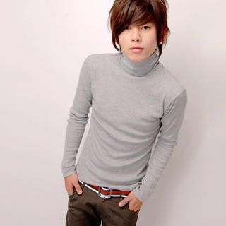 Picture of SLOWTOWN Long-Sleeve Turtleneck Top 1022962985 (SLOWTOWN, Mens Tees, China, Mens Causal Tops)